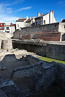 Medieval city walls and ruins - Sopron, Hungary