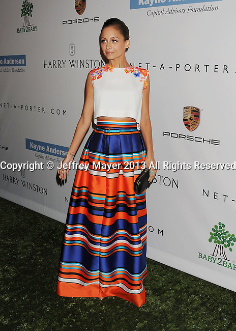 CULVER CITY, CA- NOVEMBER 09: TV personality/designer Nicole Richie arrives at the 2nd Annual Baby2Baby Gala at The Book Bindery on November 9, 2013 in Culver City, California.