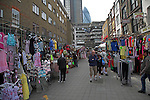 Petticoat Lane , Wentworth Street market, London, East End, E1, England