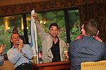 Dougray Scott<br /> Celebrity Cup Players BBQ<br /> Celtic Manor Resort<br /> 04.07.14<br /> &copy;Steve Pope-SPORTINGWALES