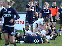Women's 6 Nations Scotland Women v England Women 9th Feb 2014