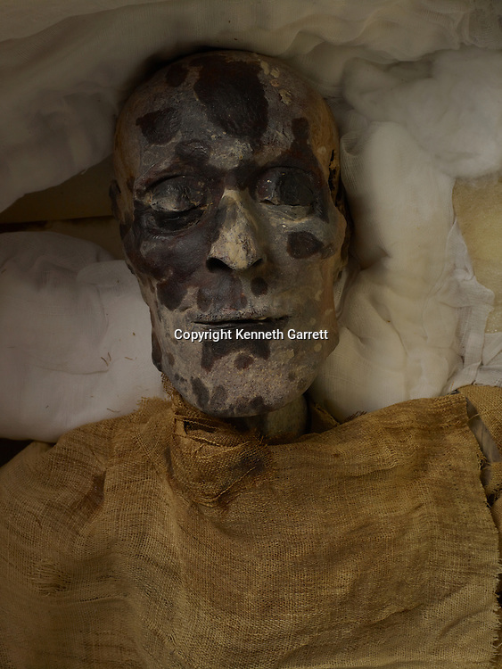 mm7864; 18th Dynasty; New Kingdom; Egypt; The Egyptian Museum; Cairo; Mummy; Valley of the Kings, unknown Royal mummy