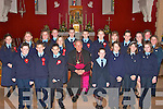 The pupils of Ballylongford National School who were confirmed by Bishop Bill Murphy in the Church of St. Michael the Archangel, Ballylongford on Tuesday.   Copyright Kerry's Eye 2008