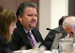 Nevada Assemblyman Richard Carrillo, D-Las Vegas, works in committee at the Legislative Building in Carson City, Nev., on Tuesday, April 14, 2015.<br /> Photo by Cathleen Allison