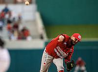 Ruddy Acosta, durante partido3 de beisbol entre Naranjeros de Hermosillo vs Mayos de Navojoa. Temporada 2016 2017 de la Liga Mexicana del Pacifico.<br /> © Foto: LuisGutierrez/NORTEPHOTO.COM