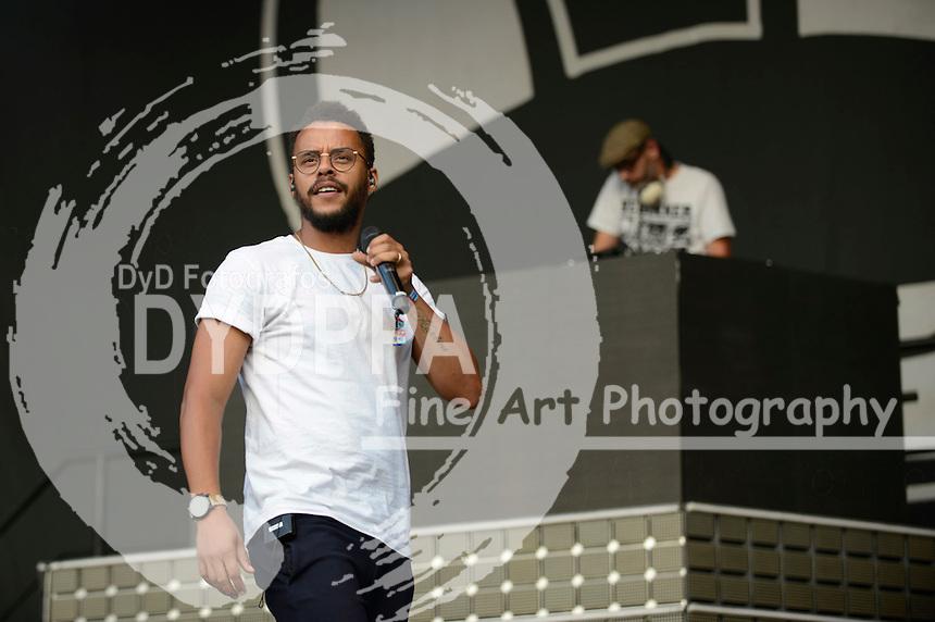 Beginner live auf dem Lollapalooza Festival 2016 im Treptower Park. Berlin, 11.09.2016