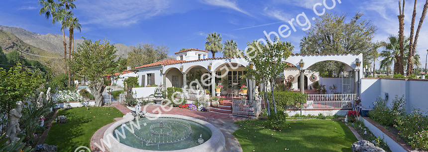 Stock photo of Liberace Estate in Palm Springs
