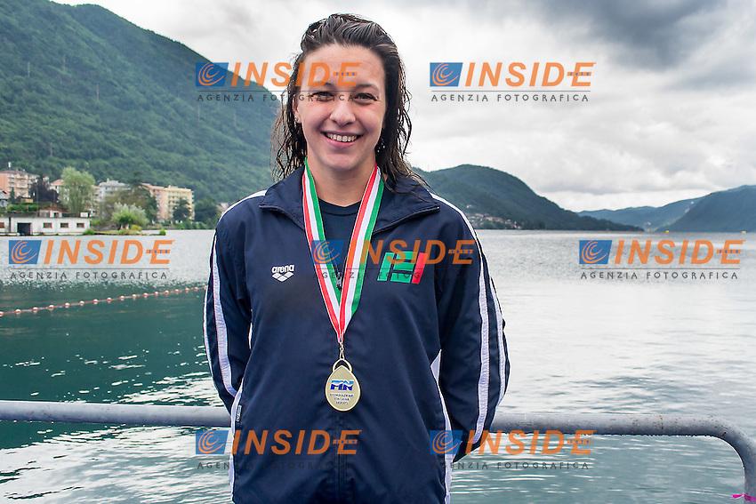 Arianna Bridi  Esercito<br /> 25  km donne<br /> Omegna, Lago D'Orta<br /> FIN 2016 Campionato Italiano Assoluto Nuoto di Fondo <br /> <br /> Day 05 14-06-2016<br /> Photo Laura Binda/Deepbluemedia/Insidefoto