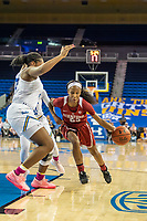 Los Angeles, CA - February 15, 2019.  The Stanford Cardinal women's basketball team defeated the UCLA Bruins, 65-51.