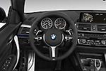 Car pictures of steering wheel view of a 2017 BMW 2-Series M230i 2 Door Convertible Steering Wheel