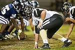 Lawndale, CA 10/18/13 - Mike Pettis (Peninsula #75) in action during the Peninsula vs Leuzinger Varsity football game at Leuzinger High School.