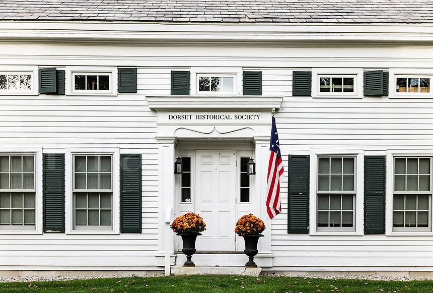 Dorset Historical Society Museum, Dorset, Vermont, USA.
