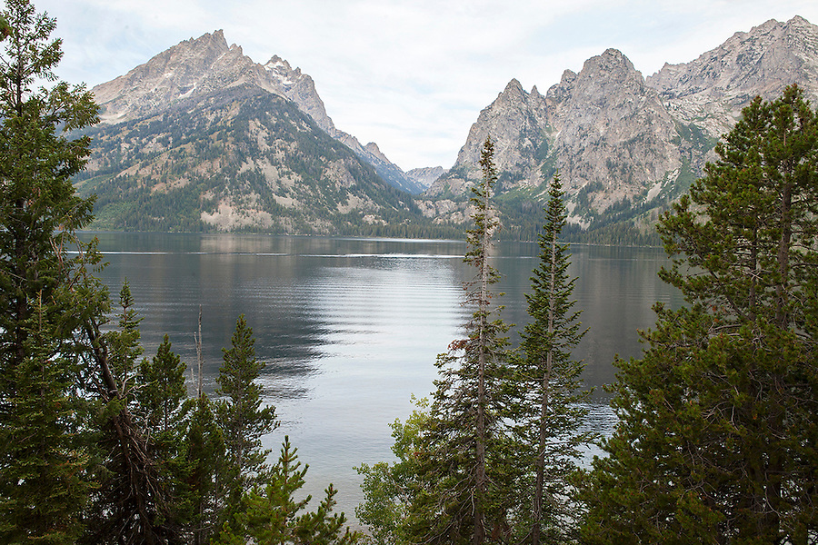 Jenny Lake in Grand Teton National Park, Wyoming, USA