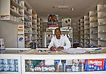 Pharmacy in Conakry, Guinea