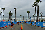 OCEANSIDE, CA - APRIL 7:  General view of age groupers during the IRONMAN 70.3 Oceanside Triathlon on April 7, 2018 in Oceanside, California. (Photo by Donald Miralle for IRONMAN)