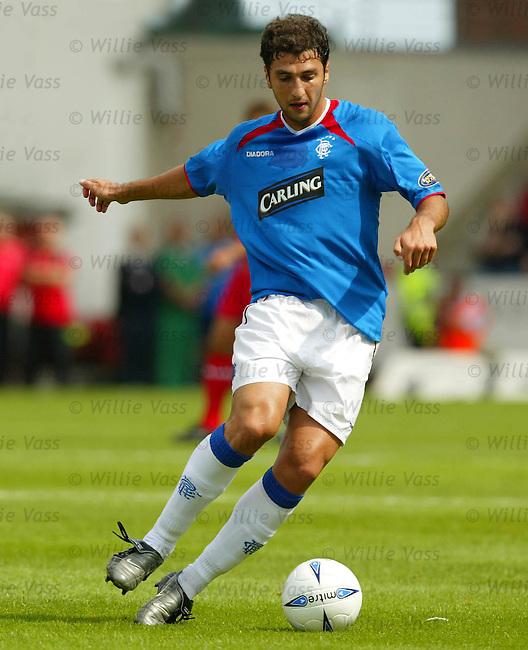 Zurab Khizanishvili, Rangers.stock season 2003-04..pic willie vass