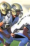 Palos Verdes, CA 11/10/10 - Andrew Jessop (Peninsula #34) in action during the junior varsity football game between Peninsula and Palos Verdes at Palos Verdes High School.