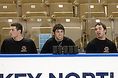 Brian Dumoulin (BC - 2), Edwin Shea (BC - 8), Barry Almeida (BC - 9) - The Boston College Eagles defeated the Yale University Bulldogs 9-7 in the Northeast Regional final on Sunday, March 28, 2010, at the DCU Center in Worcester, Massachusetts.