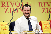 Matteo Salvini<br /> Rome December 12th 2018. Presentation of the book 'Revolution'.<br /> Foto Samantha Zucchi Insidefoto