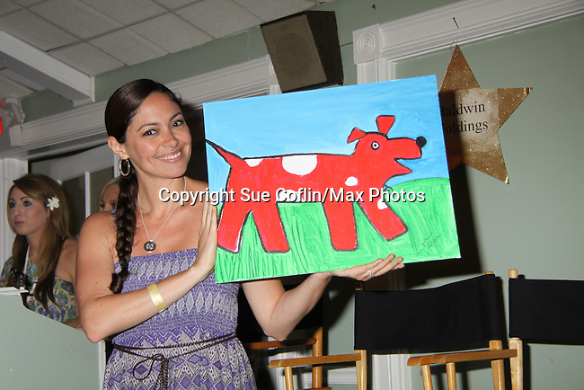 One Life to Live & Guiding Light Jessica Leccia at A Night of Stars on May 14 at Bistro Soleil, Olde Marco Inn, Marco Island, Florida - SWFL Soapfest Charity Weekend May 14 & !5, 2011 benefitting several children's charities including the Eimerman Center providing educational & outfeach services for children for autism. see www.autismspeaks.org. (Photo by Sue Coflin/Max Photos)