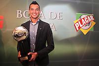 ATENÇÃO EDITOR: FOTO EMBARGADA PARA VEÍCULOS INTERNACIONAIS SÃO PAULO,SP,03 DEZEMBRO 2012 - BOLA DE PRATA 2012 -  Rever zagueiro do Atletico durante a 43ª edição da Bola de Prata, premiação mais tradicional do futebol brasileiro.FOTO ALE VIANNA - BRAZIL PHOTO PRESS.