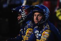 May 2, 2008; Richmond, VA, USA; Crew members for NASCAR Nationwide Series driver Kasey Kahne during the Lipton Tea 250 at the Richmond International Raceway. Mandatory Credit: Mark J. Rebilas-US PRESSWIRE