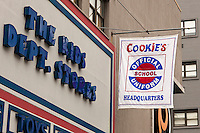 Cookies, the school uniform headquarters, in Downtown Brooklyn in New York on Saturday, August 25, 2012. The back to school shopping season is the second busiest time for retailers after Christmas.  (© Richard B. Levine)