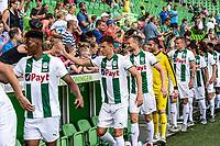 GRONINGEN - Voetbal, Opendag FC Groningen, seizoen 2018-2019, 05-08-2018, handjes schudden met de fans