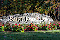 Saint Joseph's College campus, Standish, Maine, USA.