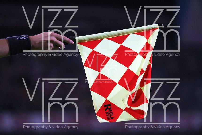 banderin , banderin del juez de linea , bandera