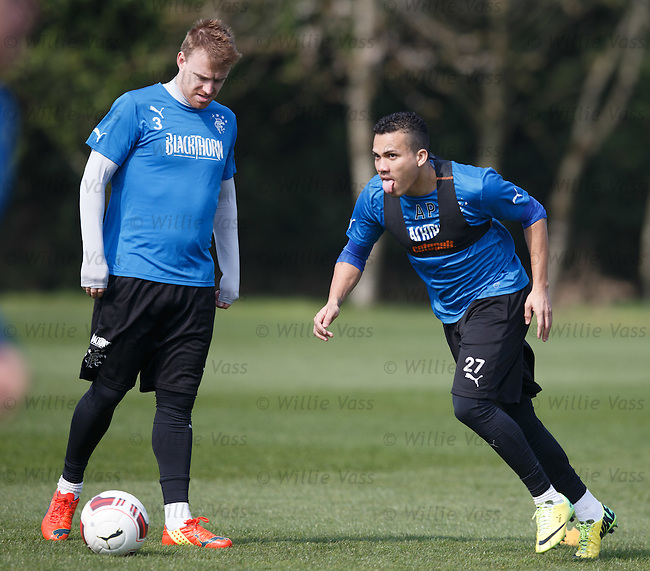 Arnold Peralta and Stevie Smith