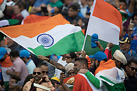 The ground erupted in a sea of orange  white and green as David Warner was dismissed caught on the boundary during India vs Australia, ICC World Cup Cricket at The Oval on 9th June 2019