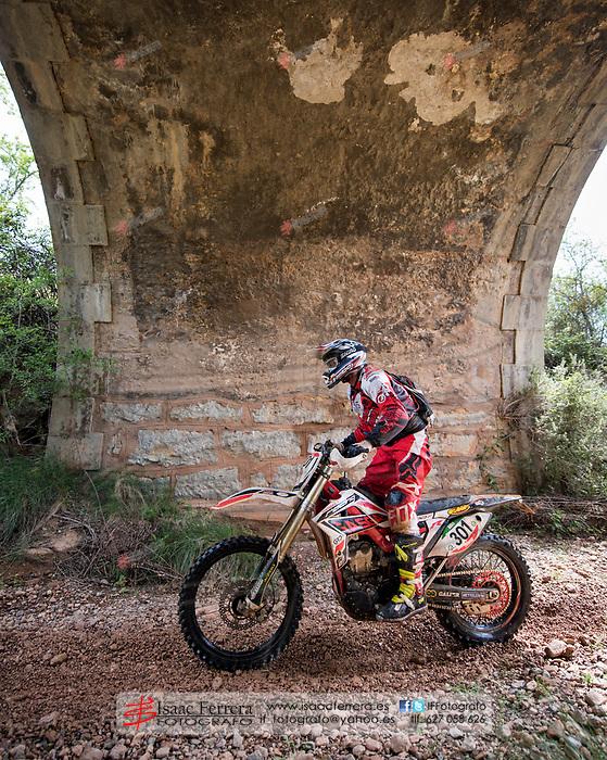 XVII Viver Enduro.<br /> Cross Country.<br /> Pe&ntilde;as Rubias - La Chana circuit.<br /> April 23, 2017.<br /> Viver, Castellon - Spain.