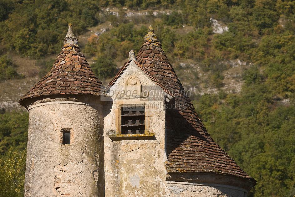 Europe/France/Midi-Pyrénées/46/Lot/Autoire: Le château de Limargue,du XV ème siècle  - Les Plus Beaux Villages de France