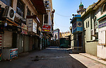 A view shows streets almost deserted during a home confinement order as a precaution against the spread of the coronavirus disease (COVID-19) in Baghdad, Iraq, on April 19, 2020. Anas Jomaa