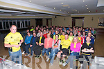 Kerry Crusaders: Gordon Flannery addressing a motivation meeting of the Kerry Crusaders who intend to take part in the Dublin City marathon at the Listowel Arms Hotel on Monday night last.