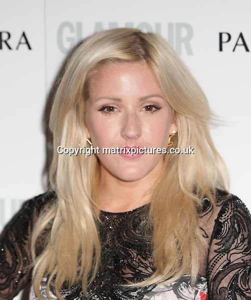 NON EXCLUSIVE PICTURE: MATRIXPICTURES.CO.UK<br /> PLEASE CREDIT ALL USES<br /> <br /> WORLD RIGHTS<br /> <br /> English singer-songwriter Ellie Goulding is pictured arriving on the red carpet for the Glamour Women Of The Year Awards held in the Berkeley Square Gardens in Central London.<br /> <br /> JUNE 4th 2013<br /> <br /> REF: GBH 133835