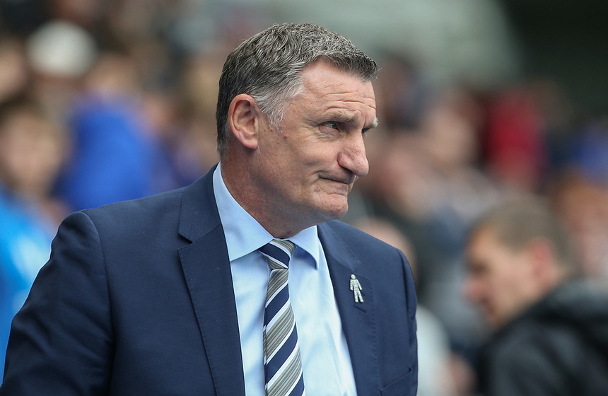 Blackburn Rovers manager Tony Mowbray <br /> <br /> Photographer Alex Dodd/CameraSport<br /> <br /> The EFL Sky Bet Championship - Blackburn Rovers v Aston Villa - Saturday 29th April 2017 - Ewood Park - Blackburn<br /> <br /> World Copyright &copy; 2017 CameraSport. All rights reserved. 43 Linden Ave. Countesthorpe. Leicester. England. LE8 5PG - Tel: +44 (0) 116 277 4147 - admin@camerasport.com - www.camerasport.com
