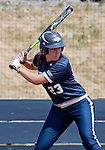 April 7, 2012:   Nevada Wolf Pack's Sara Parsons at the plate against the  San Jose State Spartans during their NCAA softball game played at Christina M. Hixson Softball Park on Saturday in Reno, Nevada.
