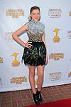 BURBANK - JUN 26: Abigail Hargrove at the 39th Annual Saturn Awards held at Castaways on June 26, 2013 in Burbank, California
