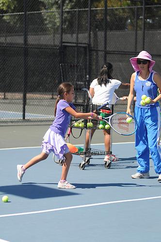 Summer Sports Camp Tennis..Photo by Jennie Xu
