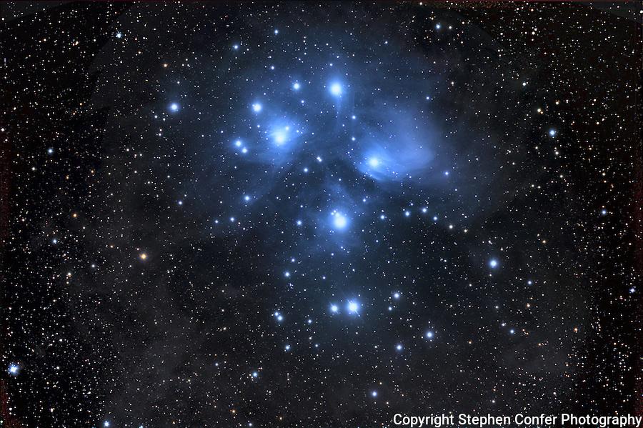 pleiades, messier 45, seven sisters