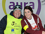 Ciaran McLoughlin and Sarah McMullen who took part in the Operation Transformation national Walk. Photo: Colin Bell/Perssphotos.ie