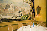 Dining Room, Vecchia Roma Restaurant, Rome, Italy, Europe