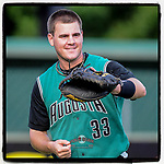 #OTD On This Day, May 20, 2010, catcher Tommy Joseph of the Augusta GreenJackets collected one hit and one run in a game against the Greenville Drive at Fluor Field at the West End in Greenville, S.C. Joseph later played with the Phillies for two years and is now with Boston. (Tom Priddy/Four Seam Images) #MiLB #OnThisDay #MissingBaseball #nobaseball #stayathome #minorleagues #minorleaguebaseball #Baseball #SallyLeague #AloneTogether