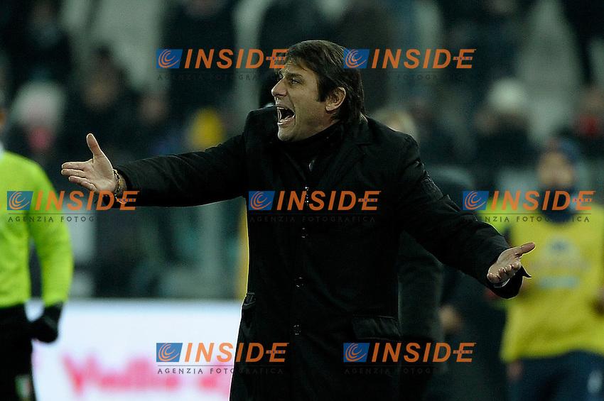 Antonio Conte   Juventus.Calcio Juventus vs Cagliari.Serie A - Torino 12/12/2012 Juventus Stadium.Football Calcio 2012/2013.Foto Federico Tardito Insidefoto