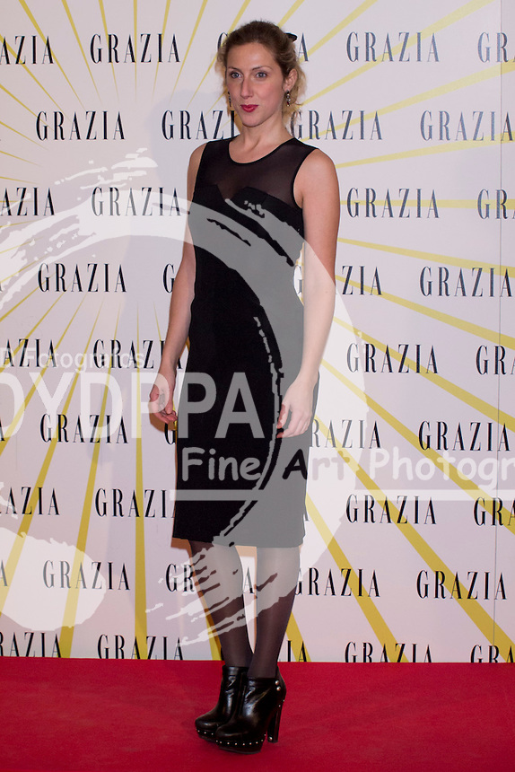 12.02.2013. Circo Price. Madrid. Spain. Celebrities attend the Party for the new magazine 'Grazia'. In the image: Cecilia Freire. (C) Ivan L. Naughty / DyD Fotografos//