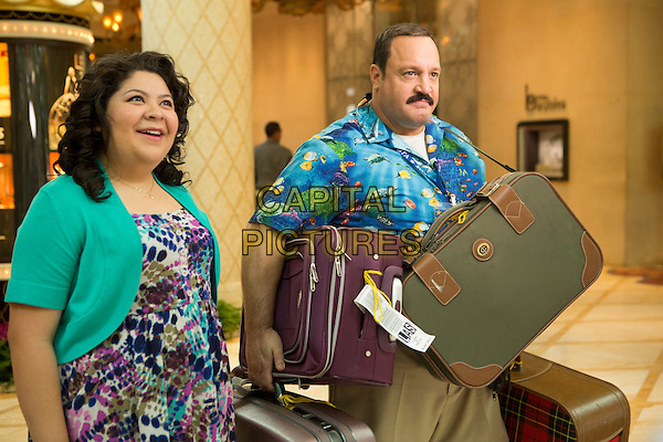 Raini Rodriguez, Kevin James<br /> in Paul Blart: Mall Cop 2 (2015) <br /> *Filmstill - Editorial Use Only*<br /> CAP/FB<br /> Image supplied by Capital Pictures