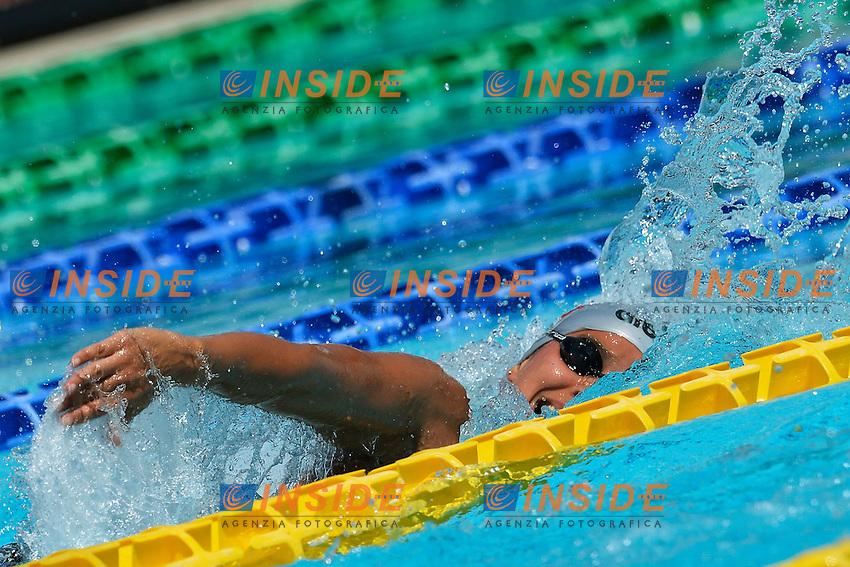 Martina De Memme Italia 200m Freestyle Women <br /> Roma 15/6/2013 Piscina del Foro Italico <br /> Nuoto 50mo trofeo Settecolli<br /> Settecolli 50th International swimming trophy <br /> Foto Andrea Staccioli Insidefoto