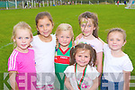 Having a great day at the Kilcummin GAA family fun day on Sunday was front row l-r: Cliona Sweeney, Saoirse Sweeney, Neveen O'Sullivan, Sadbh O'Halloran, Cliona Doolan and Caoimhe O'Halloran